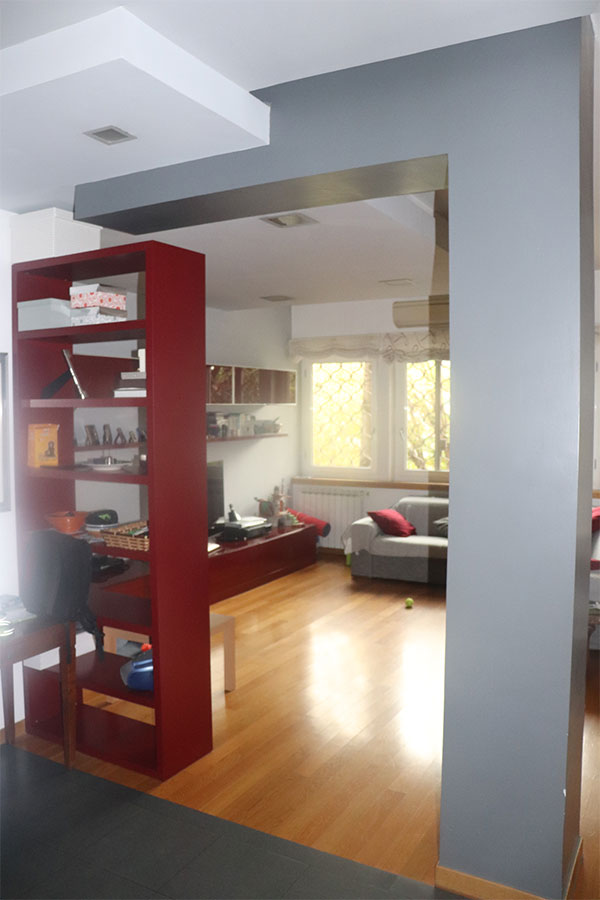 Un elegante appartamento romano